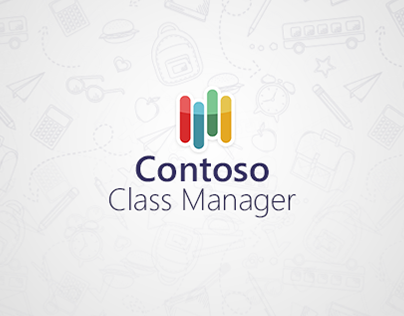 """Class Manager"" Windows 8 app"