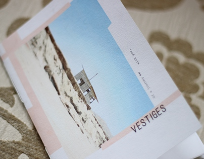 • Vestiges photo book