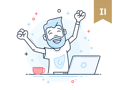 Illustrations and Icons: Hotspot Shield