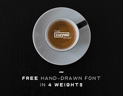 Coffee Shop - Free font