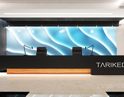 Reception, 3d panel)