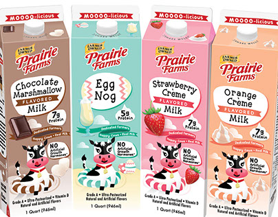 Spring Milk Packaging