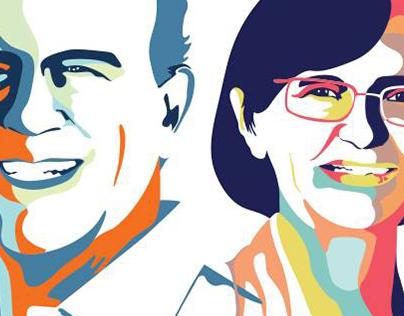 Ilustração para campanha política