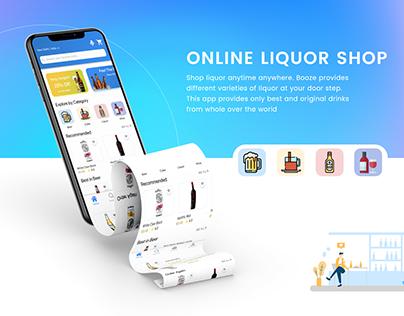 Online Liquor Store UI/UX Design