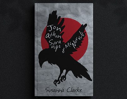 """jonathan strange and mr norrell "" book cover design"