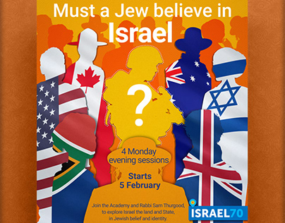 Must a Jew believe in Israel?