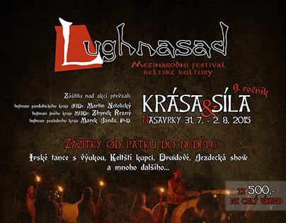 Poster for Lughnasad, celtic festival