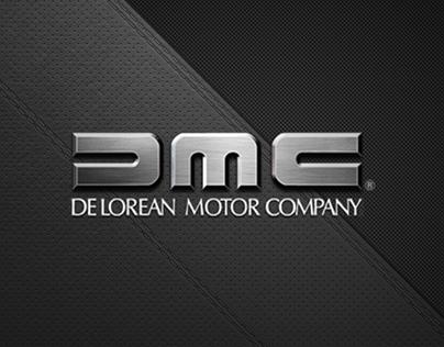 DeLorean Motor Company Web Design