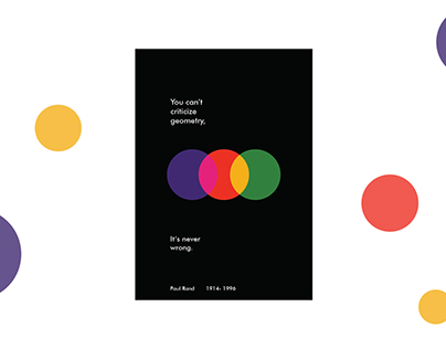 Quote Poster Design /Paul Rand