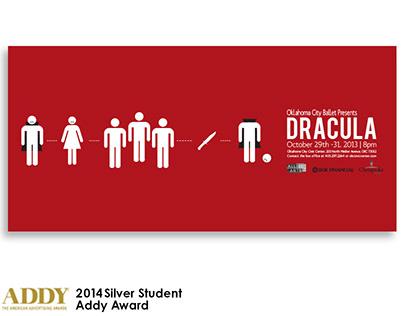 OKC Ballet Presents Dracula Poster