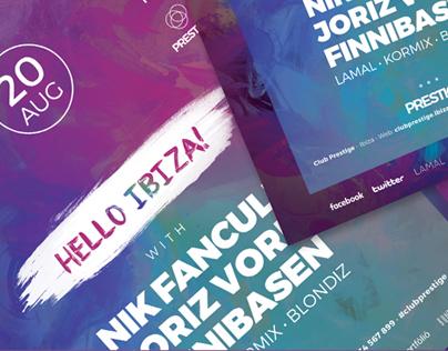 Hello Ibiza | Flyer Template