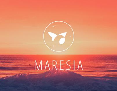 Redesign da marca Maresia (TCC/Mackenzie)