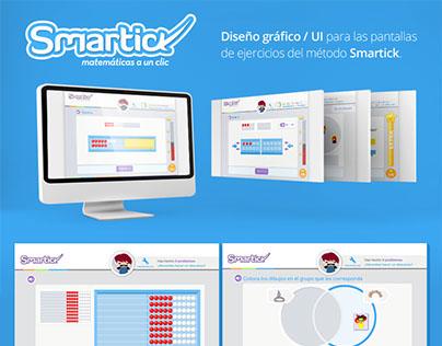 Diseño gráfico / UI para Smartick