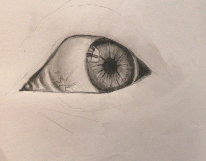 ILLUSTRATION - Eye Drawing
