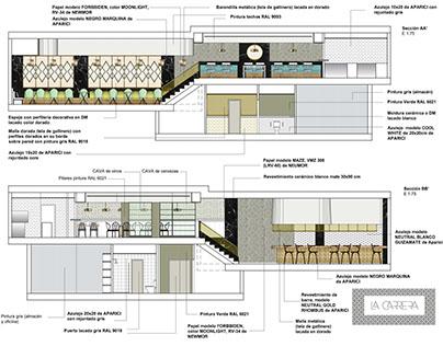 Propuesta de Rehabilitación Bar Cafetería La Carrera
