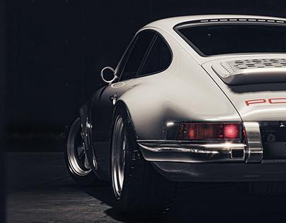 Porsche 911-Reimagined by Singer CGI.