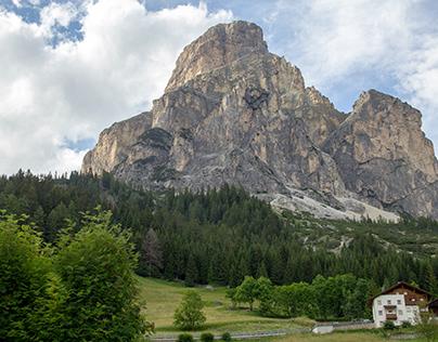 Les Dolomites en été