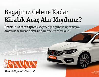 GarentaXpress Billboard