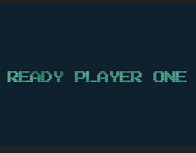 Ready Player One Title Sequence