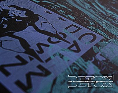 DETOX | Risograph Poster