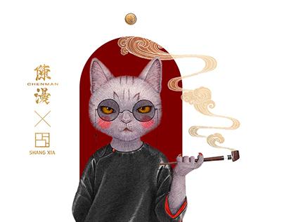 SHANGXIA Mr.cat 上下喵先生