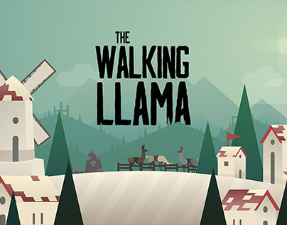 The Walking Llama | Animation