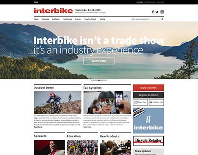 Interbike Website