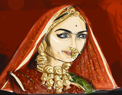 the epitome of Indian beauty padmavati