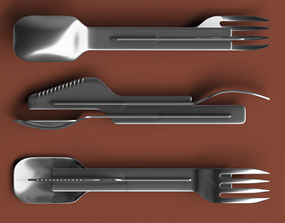 Go-eat – it is a set of table cutlery in Brick-brot