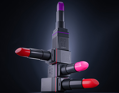 Rosé Lipsticks