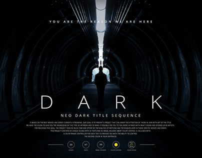 The Neo Dark Title Sequence