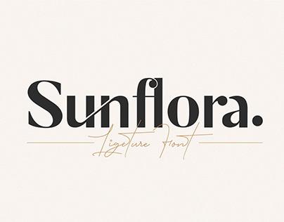 Sunflora - Unique Ligature Font