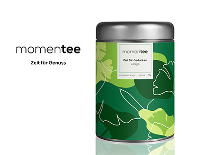 momentee - brand identity + packaging design