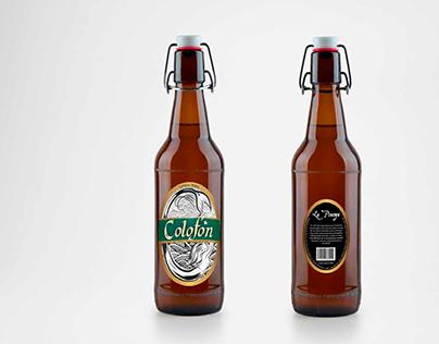 Colofón Cerveza Chilena.