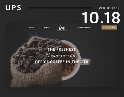 UPS Coffee Services
