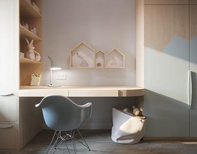 Child bedroom interior design