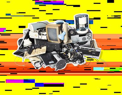 drop it like e-schrott | motion design