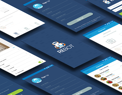 REBOT Android App Design