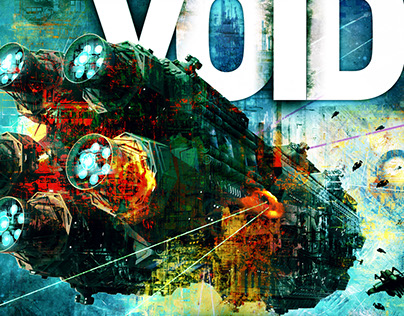 Into the Void Book Cover Illustration & Design