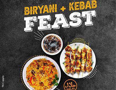 GFM | Biryani, Kebab & Coke Combo