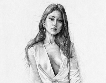Procreate Portrait Sketch