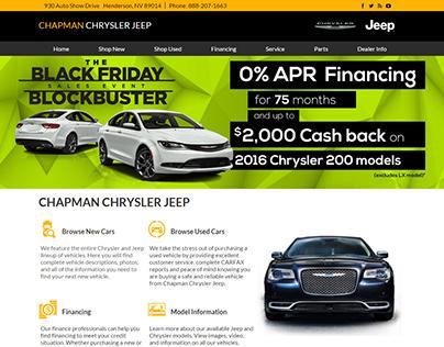 Chapman Auto Group: Chrysler/Jeep Dealership