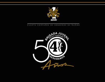 50 AÑOS BRIJADA JUVENIL 4CI CBÑ