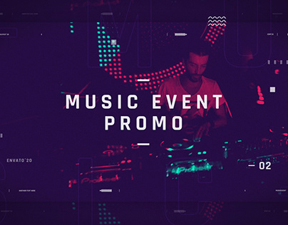 Music Event Promotion | After Effects Template