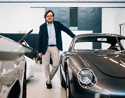 Portrait of Andrea Zagato - DriveTastefully ISSUE 03