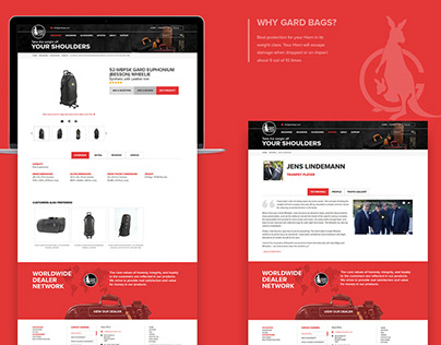 Website Design and Development | UX and UI | Gardbags