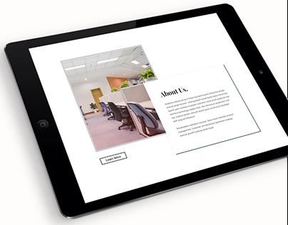 Innnovation , a minimal Agency portfolio page