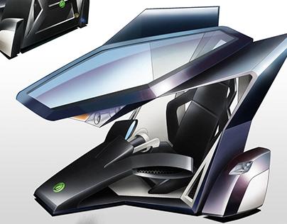 Future city car