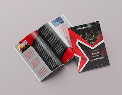 Binding Brochure/Magazine design for a business