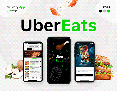 Uber Eats Delivery App Redesign